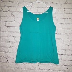Lucy Power Scoop Neck Tank Top